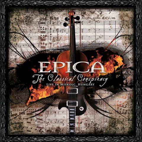 √The Classical Conspiracy von Epica - 2CD jetzt im Epica Shop