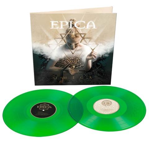 √Omega (Ltd. Transparent Green Vinyl) von Epica - 2LP jetzt im Epica Shop