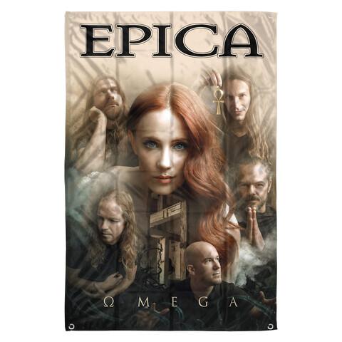 √Epica Band Collage von Epica - Flag jetzt im Epica Shop