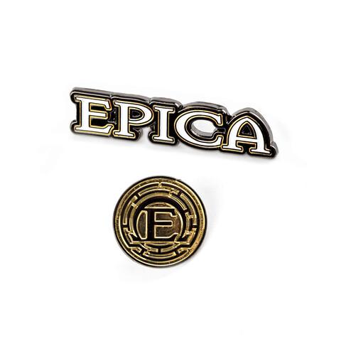 √Epica Logos von Epica - Pin Set jetzt im Epica Shop