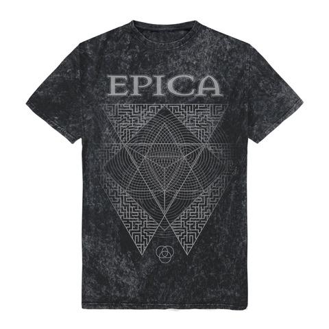 √Triangle von Epica - t-shirt jetzt im Epica Shop