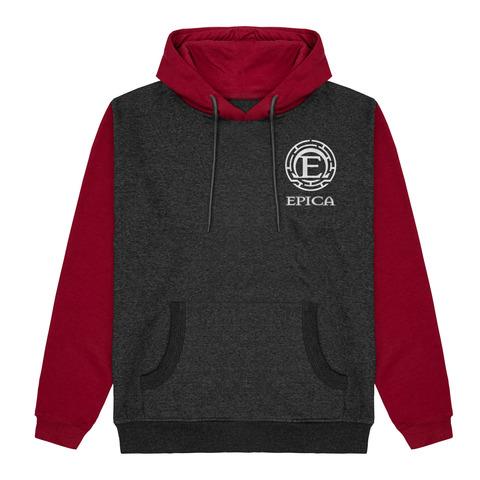 √Epica Logo - 2 Tone Hoodie von Epica - Hood sweater jetzt im Epica Shop