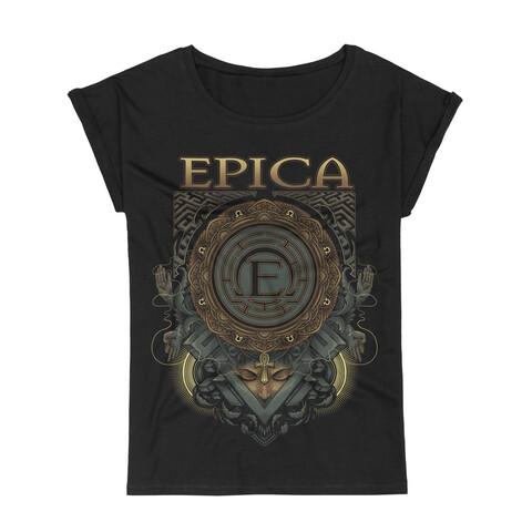 √Centered von Epica - Girlie Shirt jetzt im Epica Shop