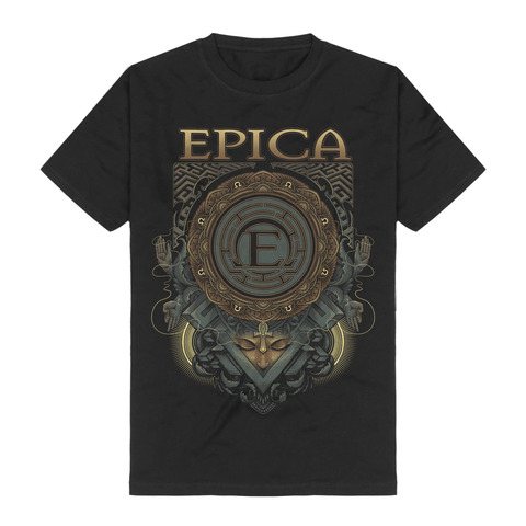 √Centered von Epica - T-shirt jetzt im Epica Shop