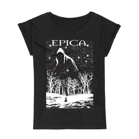 √Dark Forest von Epica - Girlie Shirt Roll Up Sleeves jetzt im Epica Shop