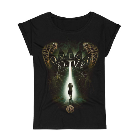 Omega Alive by Epica - Girlie Shirt - shop now at Epica store