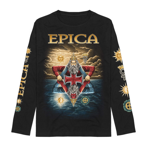 Seals Of Solomon by Epica - Longsleeve - shop now at Epica store