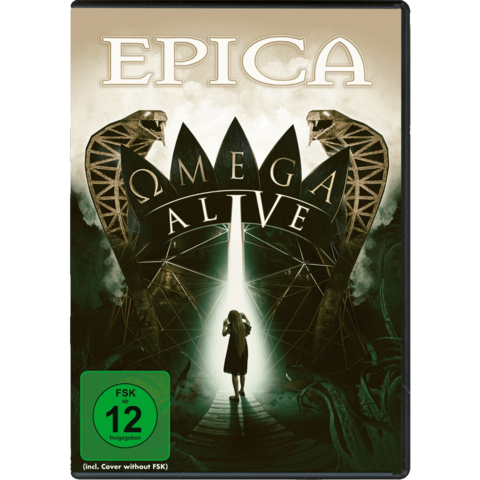 Omega Alive (DVD/BluRay) by Epica - DVD / BluRay - shop now at Epica store