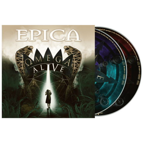 Omega Alive (2CD Digipack) by Epica - 2CD - shop now at Epica store