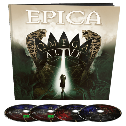 Omega Alive (Ltd Earbook 2CD + DVD / BluRay) by Epica - Earbook - shop now at Epica store