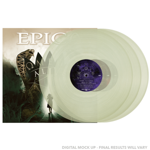 Omega Alive (Ltd Excl 3LP Glow In The Dark) by Epica - 3LP - shop now at Epica store